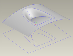 proe surfacing air foil forms